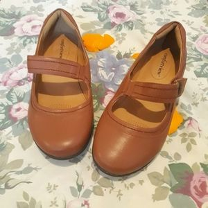 Brand new never worn brown mary Janes